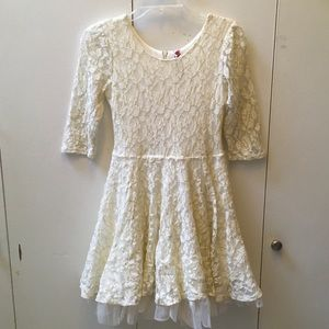 Lace Formal/Holiday Dress (Girls' 14)
